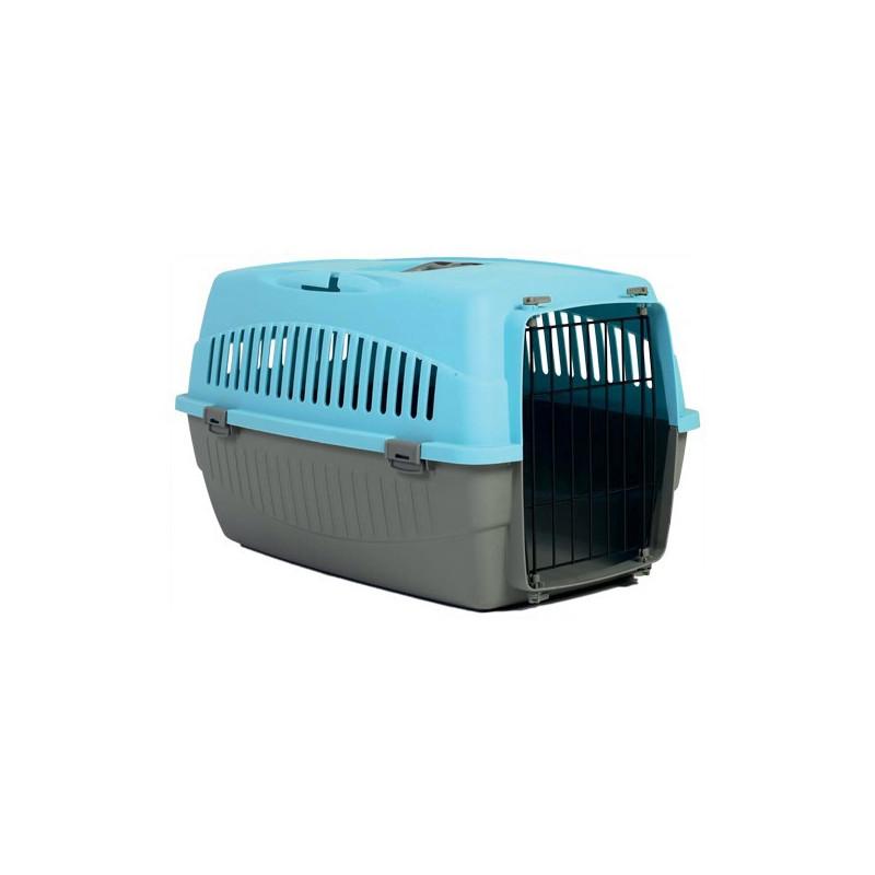Cage transporteur 1 porte bleu