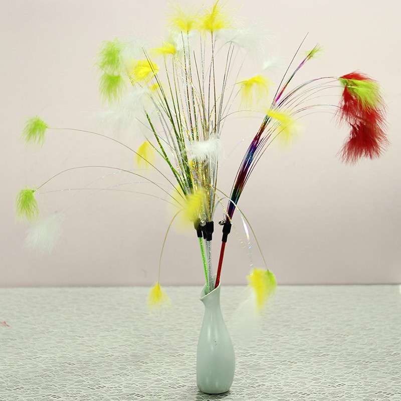 Plumeau pour chat bouquet de plumes