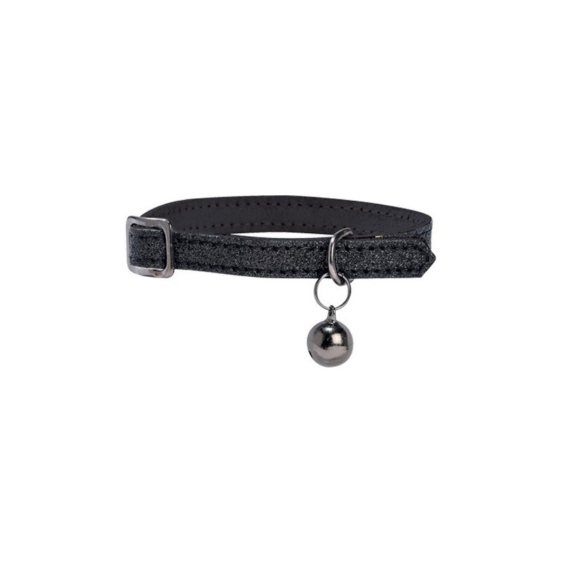 Collier chat cosmos noir