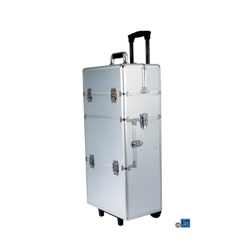 Valise de toilettage amovible aluminium