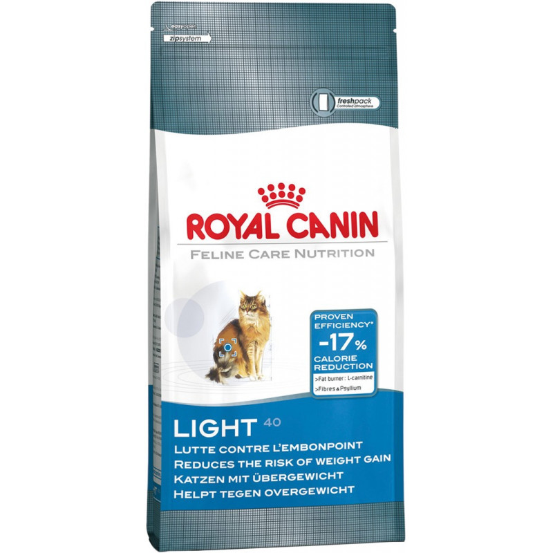 Croquettes Royal Canin Light 40