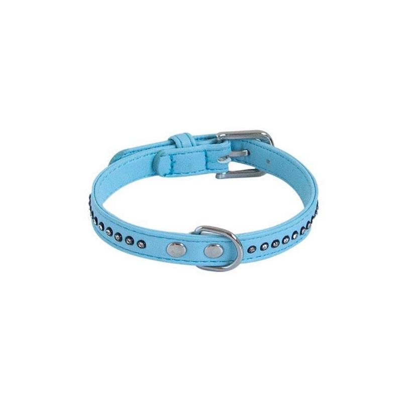 Chadog, Collier Glamorous Bleu 1 Rang