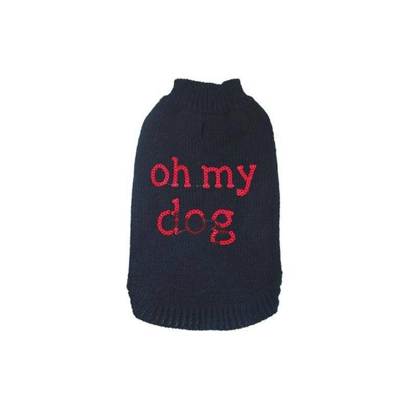 Chadog, Pull Fantaisie Noir Oh My Dog