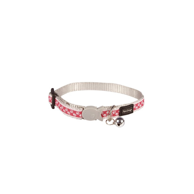 Collier Red Dingo Chats Fantaisie rose pattes