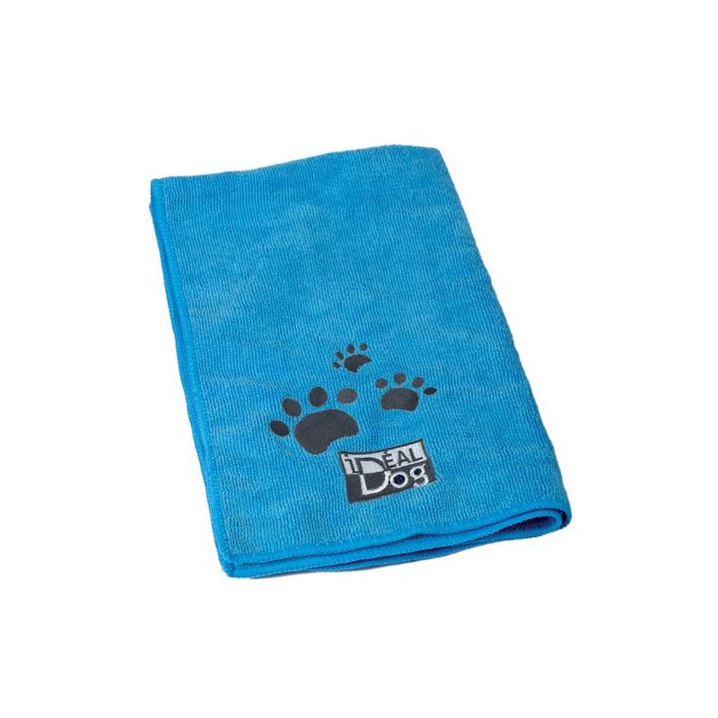 Serviettes Microfibre bleues