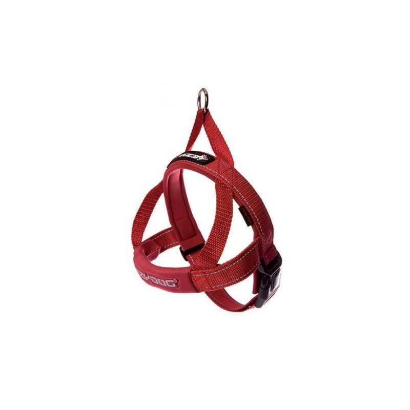 Chadog, Ezydog Quick Fit red harness