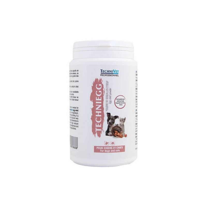 Technivet, Eggshell powder: Techniegg