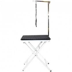 Chadog, Black portable folding grooming table