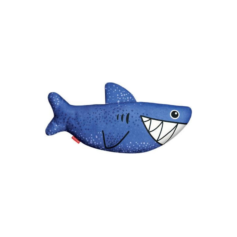 Red Dingo, Durable Toy Shark Red Goofy