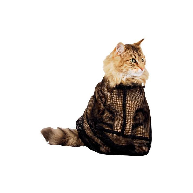 Filet de toilettage pour chat