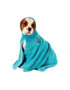 Serviettes de bain et peignoirs pour animaux