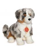 Peluches chien et chat Teddy Hermann Original