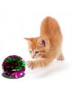 Les balles  pour chats
